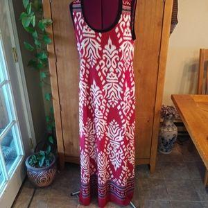 Great Northwest Indigo Maxi Dress